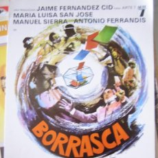 Cine: BORRASCA- GUIA PUBLICITARIA ORIGINAL ESTRENO. Lote 21245239