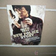 Cine: NEW POLICE STORY JACKIE CHAN GUIA ORIGINAL. Lote 21563326