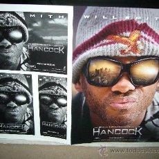 Cine: HANCOCK WILL SMITH GUIA ORIGINAL. Lote 32415204