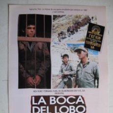 Cine: LA BOCA DEL LOBO. Lote 21776563