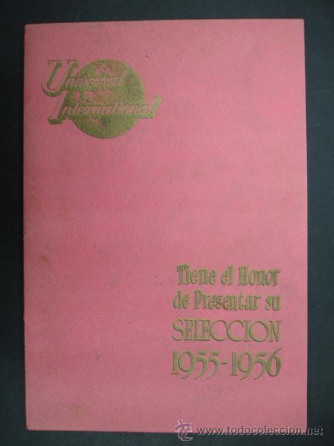 Cine: UNIVERSAL INTERNATIONAL. PRESENTACIÓN 1955 - 1956. SOLO EL CIELO LO SABE, REGRESO DEL INFIERNO,..... - Foto 2 - 22826667