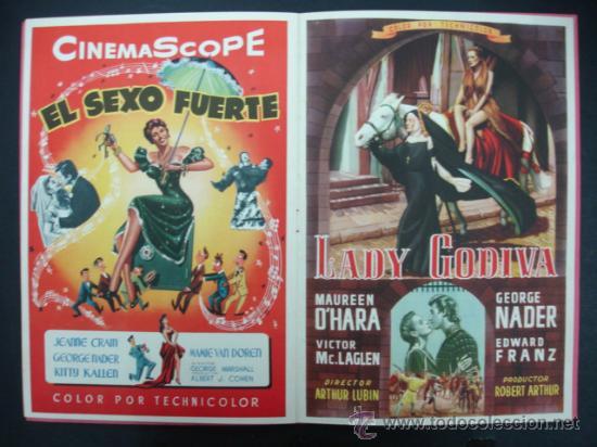 UNIVERSAL INTERNATIONAL. PRESENTACIÓN 1955 - 1956. SOLO EL CIELO LO SABE, REGRESO DEL INFIERNO,..... (Cine - Guías Publicitarias de Películas )