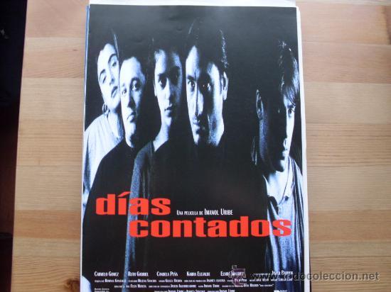 DIAS CONTADOS ( IMANOL URIBE ) (Cine - Guías Publicitarias de Películas )