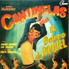 Cine: CANTINFLAS EN EL BOLERO DE RAQUEL - GUIA FOLIO - 23X31. Lote 25635093