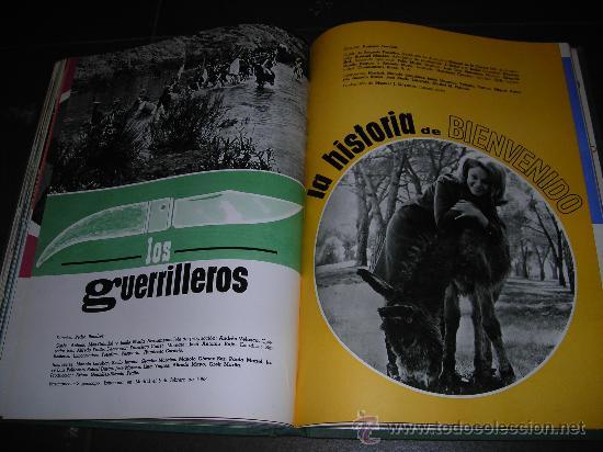 Cine: LIBRO CESAREO GONZALEZ EN SUS BODAS DE PLATA CON LA CINEMATOGRAFIA ESPAÑOLA 1940 - 1965, ILUSTRADO - Foto 6 - 27619170