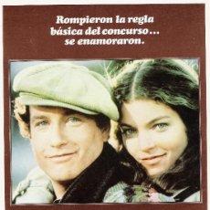 Cine: EL CONCURSO GUIA ORIGINAL SENCILLA ESTRENO RICHARD DREYFUS. Lote 23578648