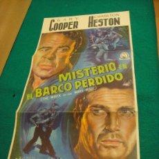 Cine: MISTERIO EN EL BARCO PERDIDO. Lote 26773530