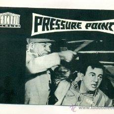 Cine: PRESSURE POINT - GUIA DE 8 PGS.16'50X11'50 - STANLEY KRAMER. Lote 26341322