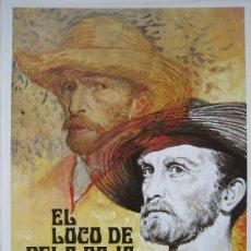 Cine: EL LOCO DE PELO ROJO KIRK DOUGLAS - GUIA PUBLICITARIA - LUST FOR LIFE VINCENT VAN GOGH. Lote 24758899