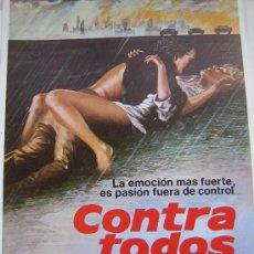 Cine: GUIA PUBLICITARIA ORIGINAL ESTRENO- CONTRA TODOS - LOTE 15 GUIAS A 30 EUROS. Lote 24893642