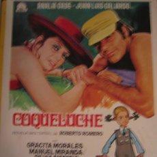 Cine: GUIA PUBLICITARIA ORIGINAL - COQUELUCHE ANALIA GADE - LOTE 15 GUIAS A 30 EUROS. Lote 25742311