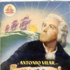 Cine: JUAN DE ORDUÑA : ALBA DE AMÉRICA - 32 PÁGINAS. Lote 25883261