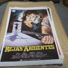 Cine: REJAS ARDIENTES, IZARO FILMS, LINDA BLAIR, GUIA ORIGINAL 1984, 1 HOJA. Lote 26066678