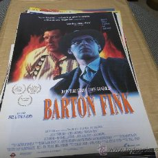 Cine: BARTON FINK, LAUREN FILMS, JOHN TURTURRO, GUIA ORIGINAL, 8 PAGINAS.. Lote 26067188