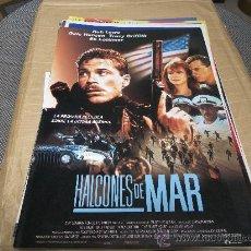 Cine: HALCONES DE MAR, LAUREN FILMS, ROB LOWE GUIA ORIGINAL, 8 PAGINAS.. Lote 26067283