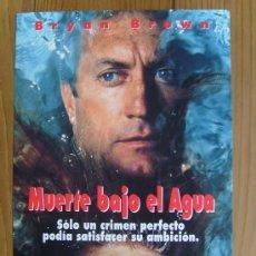 Cine: MUERTE BAJO EL AGUA. Lote 26410387
