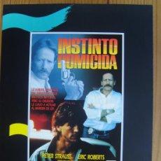 Cine: INSTINTO HOMICIDA. Lote 26410481