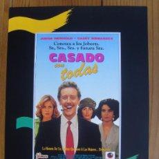 Cine: CASADO CON TODAS. Lote 26410488