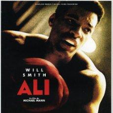 Cine: ALI, CON WILL SMITH. GUIA.. Lote 26957449