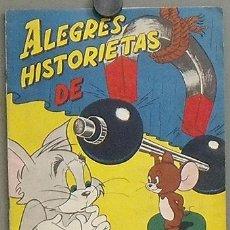 Cine: G3786 ALEGRES HISTORIETAS DE TOM Y JERRY ALBUM DE CROMOS COMPLETO ORIGINAL . Lote 27216125