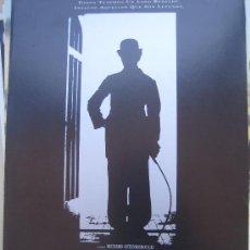 chaplin robert downey jr - guia publicitaria original estreno- lote 15 guias a 30 euros