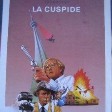 Cine: LA CUSPIDE - GUIA PUBLICITARIA ORIGINAL ESTRENO- LOTE 15 GUIAS A 30 EUROS. Lote 27552908