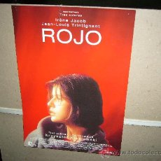 Cinéma: ROJO TRINTIGNANT KIESLOWSKI GUIA ORIGINAL. Lote 27572563
