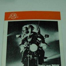 Cine: GUIA PUBLICITARIA ORIGINAL - JOVENES GUERREROS - RICHARD ROUNDTREE YOUNG WARRIORS. Lote 28228027