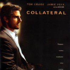 Cine: COLLATERAL (GUIA ORIGINAL DOBLE CON FOTOS) TOM CRUISE JAMIE FOXX. Lote 179323480