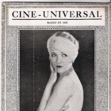 Cine: GUIA PARA EMPRESARIOS DE LA UNIVERSAL AÑO 1925(VER FOTOS). Lote 29277785