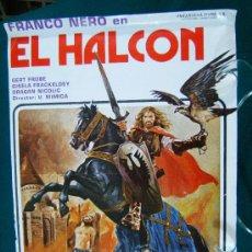 Cine: EL HALCON - V. MIMICA - FRANCO NERO - GERT FROBE - 1982 APROX.. Lote 29467055