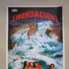 Cine: INUNDACION - GUIA PUBLICITARIA ORIGINAL ESTRENO NO ENTRA EN LOTES. Lote 29650661