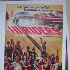 hi-riders - guia publicitaria estreno lote 20 guias 30 euros