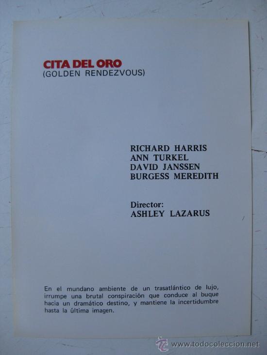Cine: CB FILMS, UNITED ARTISTS - LISTA DE MATERIAL TEMPORADA 1978-79 - 22 GUIAS - VER FOTOS ADICIONALES - Foto 7 - 30535173