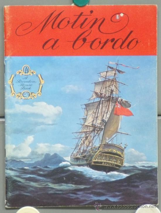 G4076 REBELION A BORDO MARLON BRANDO LEWIS MILESTONE GUIA ESPECIAL ORIGINAL INGLESA (Cine - Guías Publicitarias de Películas )