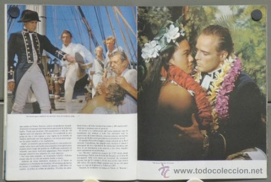 Cine: G4076 REBELION A BORDO MARLON BRANDO LEWIS MILESTONE GUIA ESPECIAL ORIGINAL INGLESA - Foto 2 - 31146239