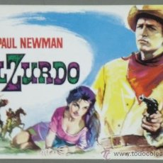 Cine: G4182D EL ZURDO PAUL NEWMAN MAC GUIA ORIGINAL MUNDIAL FILMS ESTRENO. Lote 31179333