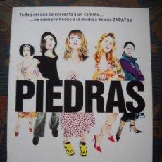 Cine: PIEDRAS - RAMÓN SALAZAR, 2002. Lote 195263630