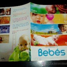 Cine: BEBES. GUIA PUBLICITARIA DOBLE ORIGINAL DE LA PELICULA.. Lote 31288204