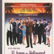 Cine: EL JUEGO DE HOLLYWOOD. GUÍA DE LAUREN FILMS. (8 PÁGINAS). Lote 31656304