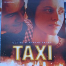 Cine: TAXI - AGATA LYS INGRID RUBIO CARLOS SAURA - GUIA PUBLICITARIA ORIGINAL ESTRENO. Lote 31685908