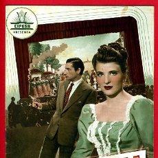Cinema: GUIA CINE, CIFESA , ULTIMO DIA , TIPO REVISTA , ORIGINAL ,G917. Lote 31726174