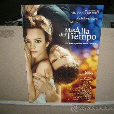 Cine: MAS ALLA DEL TIEMPO GUIA ORIGINAL. Lote 31826662