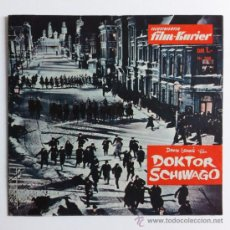 Cine: DOKTOR SCHIWAGO (DOCTOR ZHIVAGO) - GUIA ORIGINAL GERMANY 1965 - ILLUSTRIERTER FILM-KURIER #208. Lote 32011357