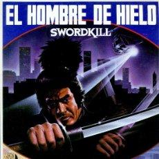 Cine: GUIA PUBLICITARIA PELICULA EL HOMBRE DE HIELO. Lote 32123652