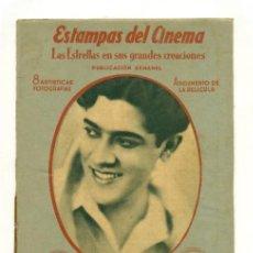 Cine: ESTAMPAS DEL CINEMA - LADRON DE AMOR - 8 FICHAS FOTOCROMOS CON GUION EN TRASERA. Lote 32282117