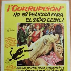 Cine: CORRUPCIÓN. Lote 32511197