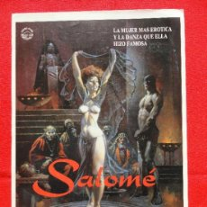 Cine: SALOME, GUÍA SENCILLA ORIGINAL IMPECABLE, ÍZARO FILMS. Lote 53713897