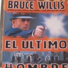 Cine: EL ULTIMO HOMBRE BRUCE WILLIS GUIA PUBLICTARIA ORIGINAL ESTRENO LOTE 20 GUIAS A 30 EUROS. Lote 33251548