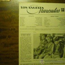 Cine: GUIA PELICULA METRO 4 PAG. LOS ANGELES MARCADOS. Lote 33431166